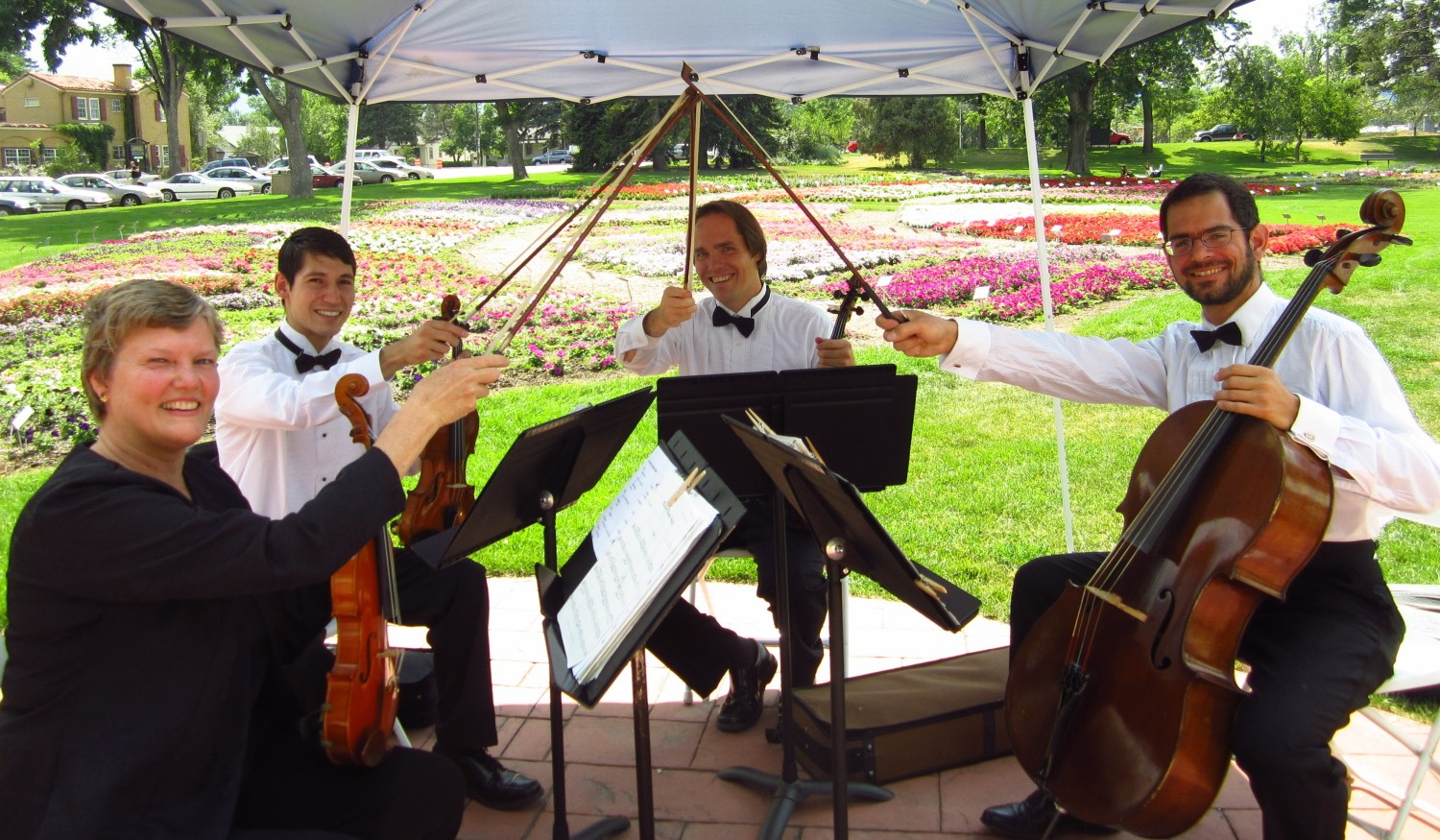 colorado wedding string quartet