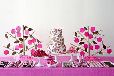 wedding dessert bars