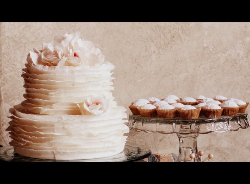 Colorado wedding dessert table