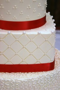 Red and White detail