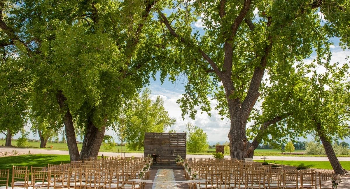 Colorado Outdoor Wedding Fort Collins