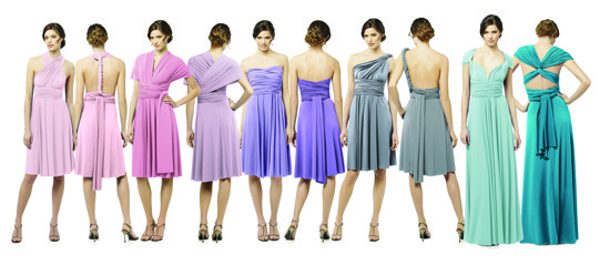 bridesmaids dress, 2015, wrap dress