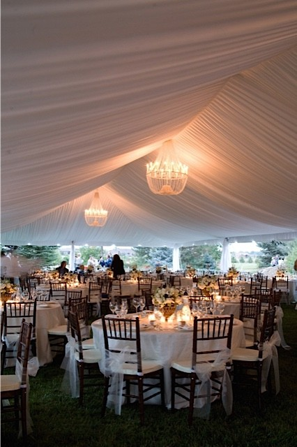 event tent, liner