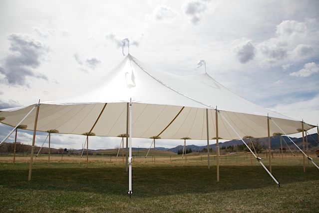 event tent, pole tent