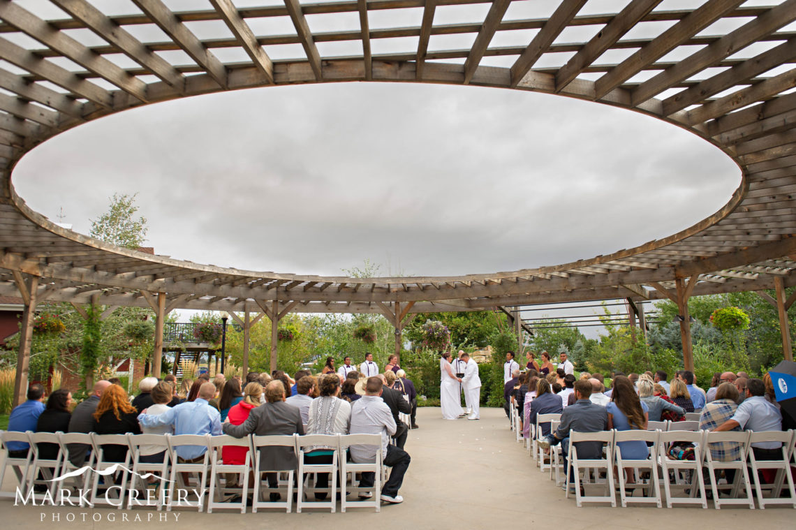 Brookside Gardens Berthoud Wedding Photo