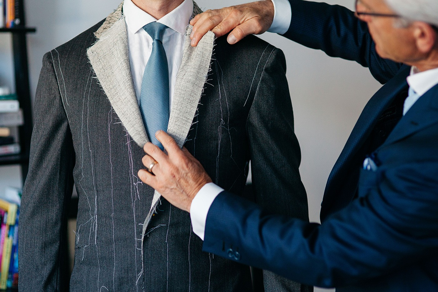 wedding suits and Bespoke Edge
