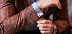 Surgeon cuffs: A smart style upgrade for your wedding suit
